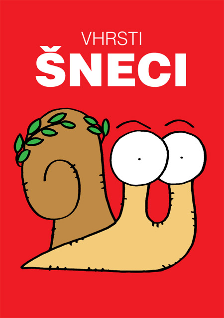 unikátní knížka šnečích karikatur # unique book of snails caricatures
