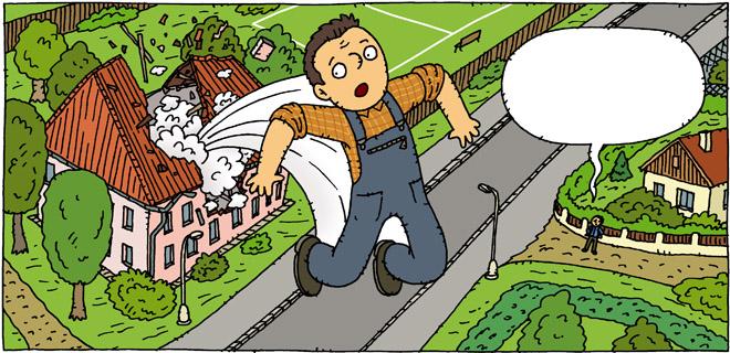 Illustration Friday cartoon