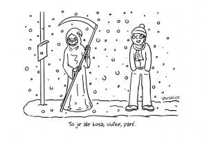 kreslený vtip