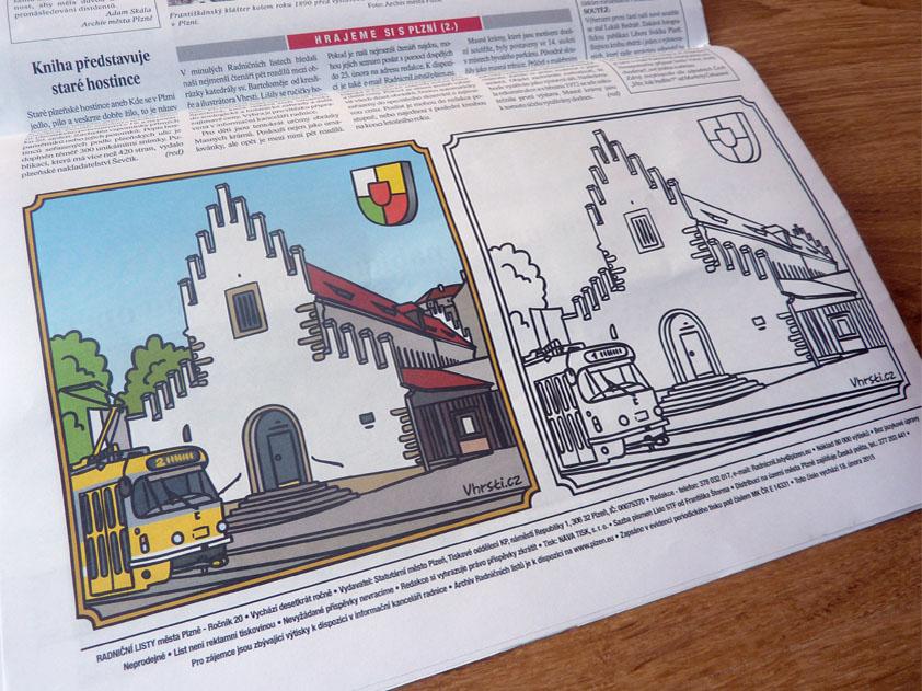 ilustrace pro Radniční listy