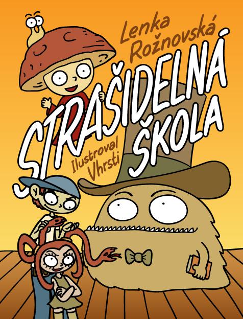 obálka knihy pro děti