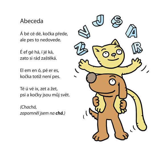 ilustrace k básničce Jiřího Žáčka
