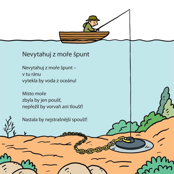 nová ilustrace a básnička pro děti