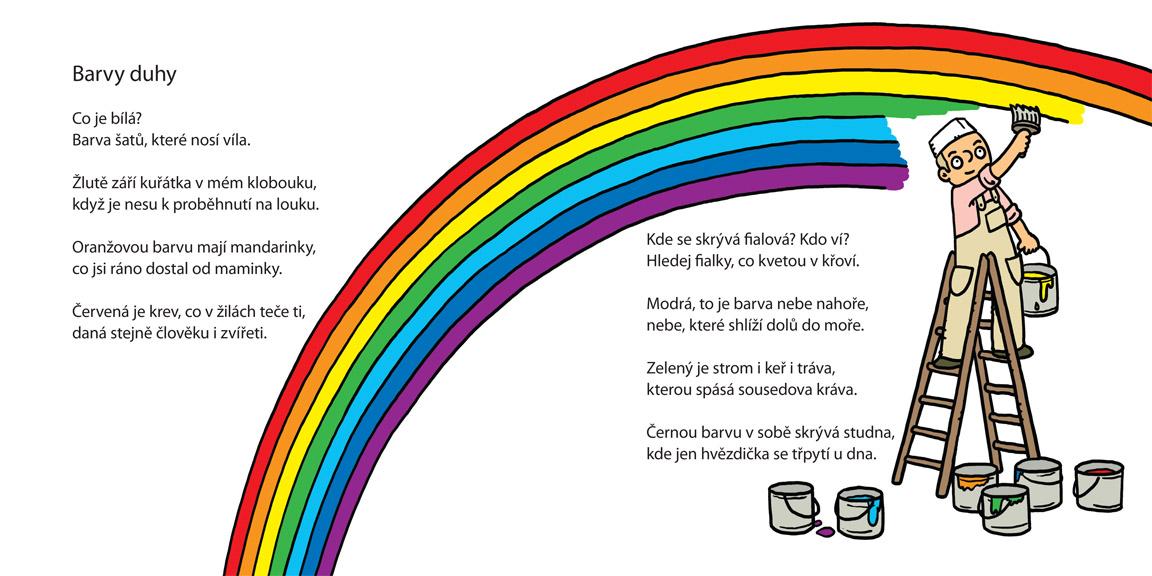 nová básnička o barvách od Jiřího Žáčka