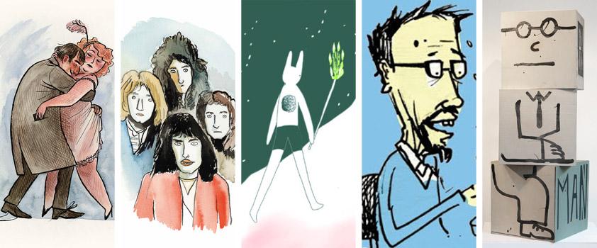 ilustrace - blogy