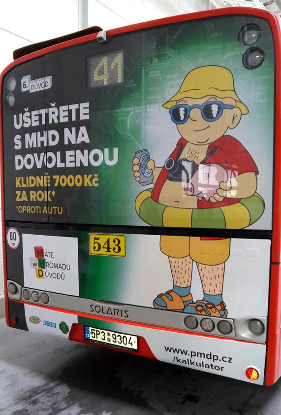 ilustrace pro dopravní podnik