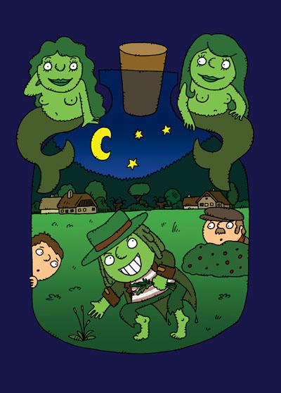 Dva tucty - ilustrace pro děti