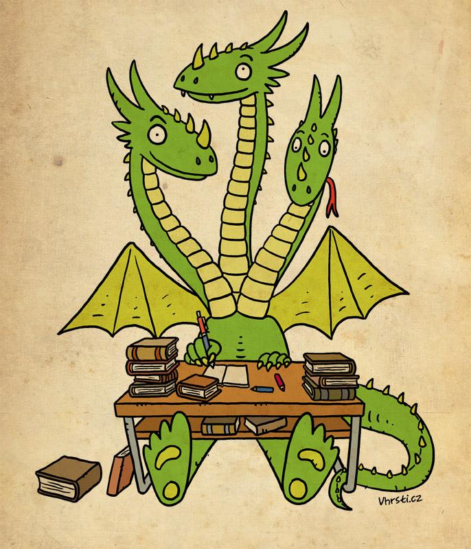 pohádkový drak