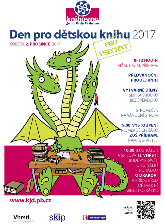 DDK 2017 plakát s drakem